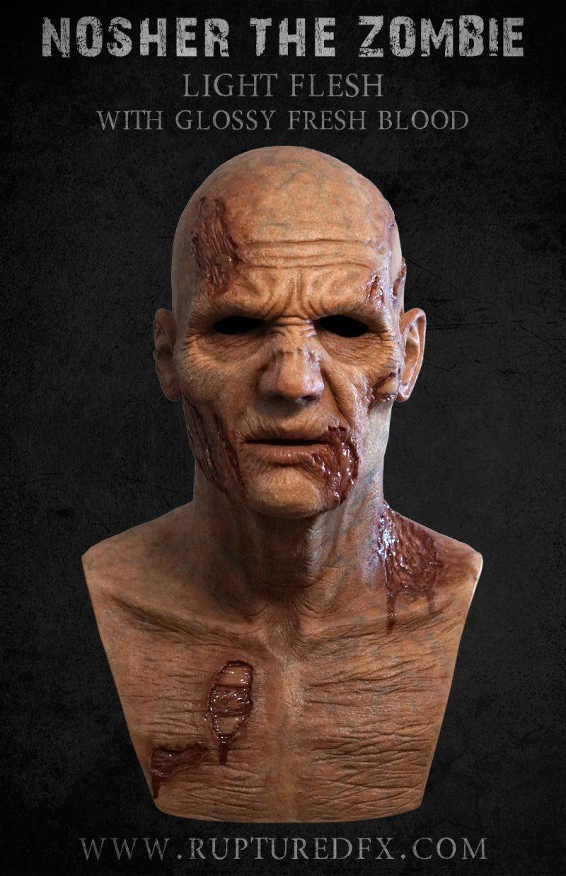 Nosher Zombie Silicone Mask