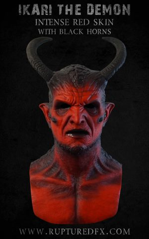 Ikari Demon Devil Silicone Mask