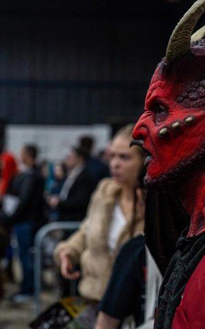 Ikari Demon Devil Silicone Mask