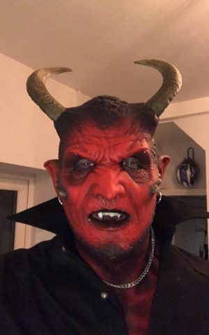 Ikari Demon Silicone Mask